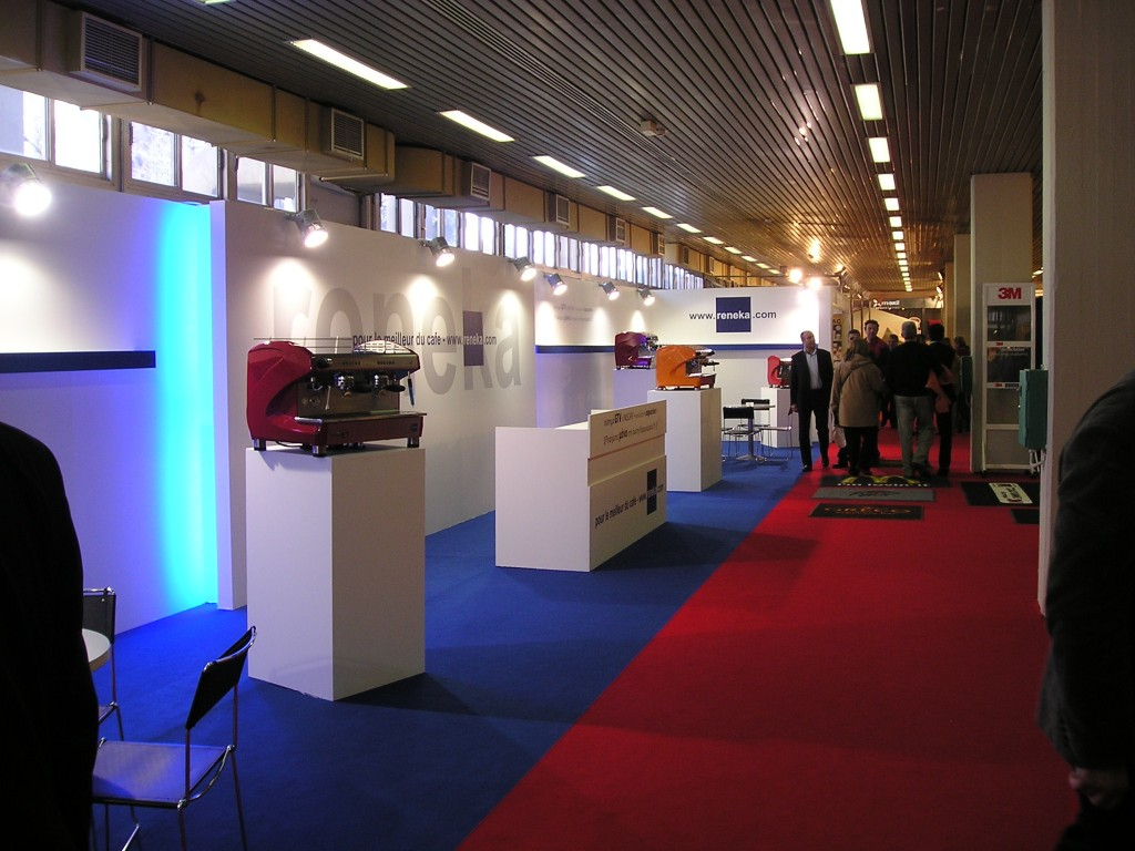 Reneka Exhibition booth – Coffeebiz 2006