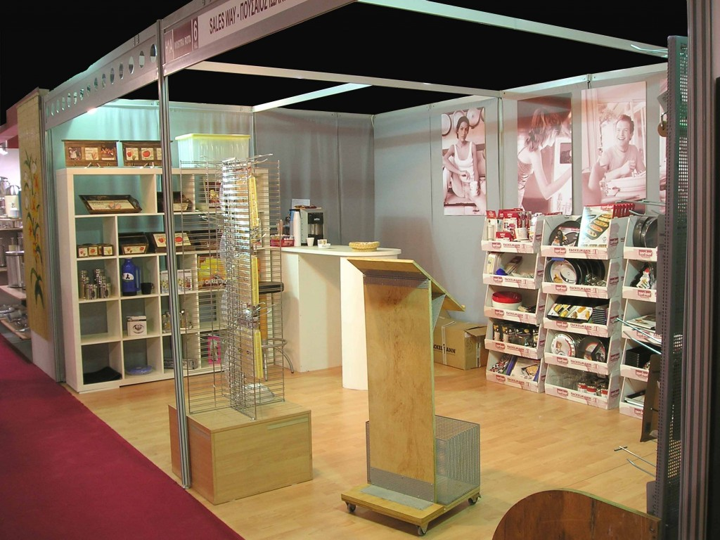 Salesway exhibition booth @Mostra Rota 2006 trade show